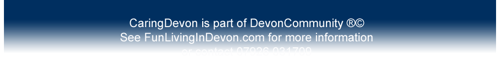 Contact details for CaringDevon.com